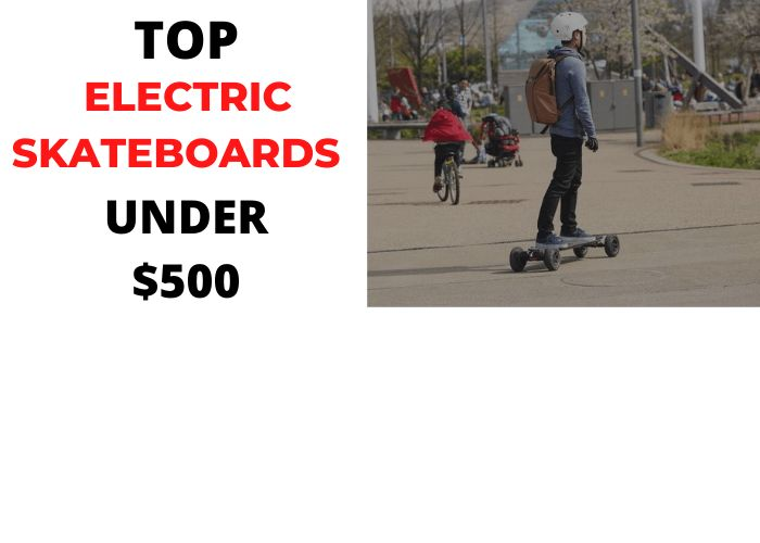 best electric skateboard under $500 review image